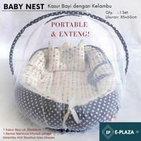 Baby Nest/ Kasur Bayi dengan Kelambu/ Baby Crib/ Box