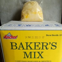 Anchor Bakers Mix Butter Blend Margarin Kemasan 1 Kg