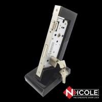 Body Kunci Pintu Roller Set 85x40 Cylinder Kunci 60mm Nicole