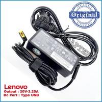 Adaptor Charger Original Laptop Lenovo T440 T440P T440S T431S 65W USB