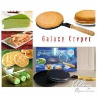 Promo Galaxy Creper Maker Wajan kwalik terbalik crepes pan 21cm