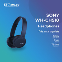 Sony WH-CH510 / WH CH510 / CH 510 Wireless Headphones