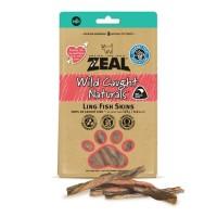 Zeal Ling Fish Skins - Dog Snack Cemilan Makanan Anjing Hewan