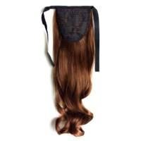 55cm Mega Long Clip in Ponytail Hair Extensions Natural Human Hair