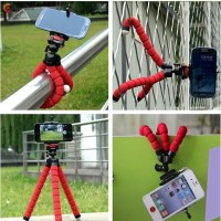 Mobil ★Crazy★ Tripod / Monopod Kamera / Smartphone Selfie Kaki