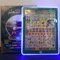 Mainan Playpad Anak Muslim 4 Bahasa Edukasi - Ipad Arab 4in1