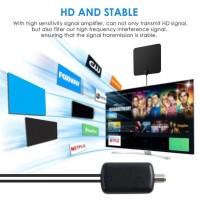 Sinyal dvb-us HD ❣ Antena TV Indoor Digital HDTV 240 Miles 1080P