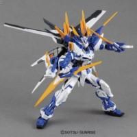 New !! Bandai Original MG 1100 Gundam Astray Blue Frame D + action ba