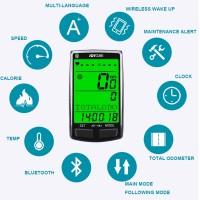 untuk Sepeda Stopwatch Wireless Anti Air dengan Sensor Detak