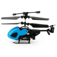 Helikopter Remote Control Infrared 2 Channel dengan gyroscopes Mini