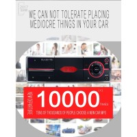 Mobil Headunit 1DIN Portable dengan MP3 Player + Bluetooth + Radio