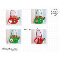 handbags TOP1 ☞ Christmas items color handbags apple gift bags