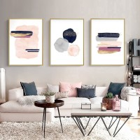 Canvas Painting Colorful Geometric Poster Nordic Posters And Prints