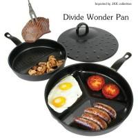 Serbaguna Praktis Divide Wonder Pan Maker As Seen On TV 3 in 1 Set