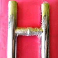Pull Handle Stenlis ukuran panjang 120cm As tengah 90 cm