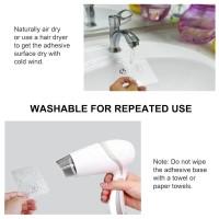TOP1 ☞❣ Bearing 3KG Transparent Adhesive Hook Waterproof