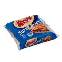 BEGA Super Sllices 250gr - Keju Olahan Iris 12 Lembar -Biru