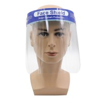 Transparan Adjustable ~ Pelindung Kepala Anti Debu