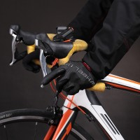 touch gloves ღ Bicycle riding gloves shock absorption slippery
