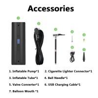 Mobil / Sepeda Pompa Udara Elektrik Portabel Wireless untuk