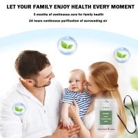 card Portable protective bacteriostatic
