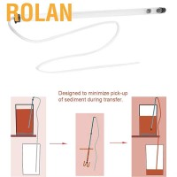 Rolan 64cm Auto Siphon Racking Cane for Beer Wine Bucket Carboy