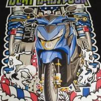 Terpopuler ! Kaos motor honda beat babylook racing distro thailook