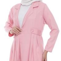 Outerwear Muslim Original | Jelita Blazer | Cardigan Wanita - Pink