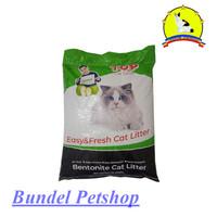 PASIR KUCING GUMPAL TOP 20 KG - Top Cat Litter Bentonite 20Kg