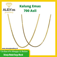 kalung mas kuning perhiasan emas 70