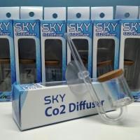Sky Diffuser Difuser CO2 Aquascape Biru by NAC