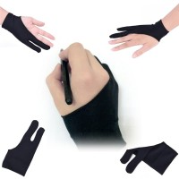 Sarung tangan drawing glove untuk pen tablet Wacom Huion