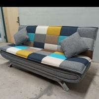 Sofa Bed Perahu Motif Catur