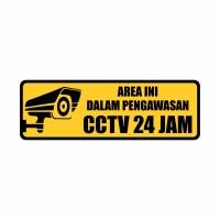 Rambu CCTV 30cm x 10cm Acrylic 2mm