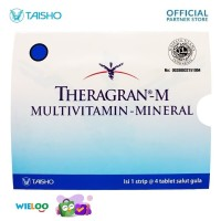 Theragran M Multivitamin dan Mineral (Strip isi 4 tablet)