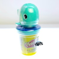 Play-Doh Whale Mini Can Topper Playdoh