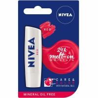 Nivea Lip Care Color Red 5.5 gram