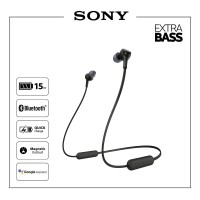 SONY WI-XB400 Black Extra Bass Wireless Earphone / WI XB400 / WIXB400