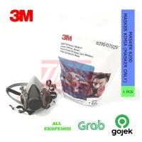 3M Masker 6200 / Masker Kimia / Gas Respirator