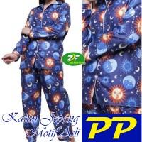 Piyama PP - Star Moon 03 - Katun Jepang / Baju Tidur Wanita Dewasa