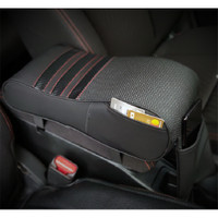 Car Arm Rest Carbon | Bantal Mobil Sandaran Siku Tangan Memory Foam