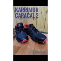Sepatu Running Trail Karrimor Caracal 2 Black Red Waterproof Original