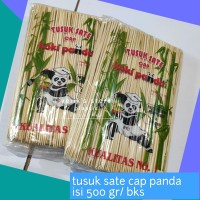 Tusuk Sate Cap Koki Panda Bebas Serat Isi 500 gr/bks