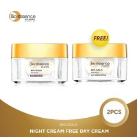 Bio Essence Bio Gold Night Cream Free Day Cream