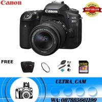 Canon EOS 90D kit 18-55 mm IS STM - Kamera DSLR PAKET
