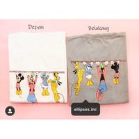 Tumblr Tee / T-Shirt / Kaos Wanita Lengan Pendek Mickey & Friends