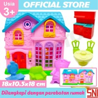 Mainan Anak Rumah Rumahan Set / Beauty Castle OCT2908