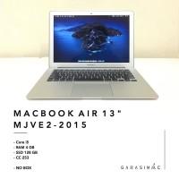 MacBook Air 2015 MJVE2 RAM 4GB SSD 128GB BKN MMGF2 MQD42 MQD32 Pro