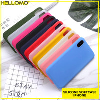 Silicon SoftCase iPhone / Casing Handphone iPhone X XS XR XS MAX