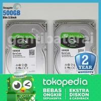 """Harddisk HDD Seagate Internal PC 500GB HDD SATA 3.5"""" Original"""